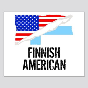 Finnish American Flag Posters