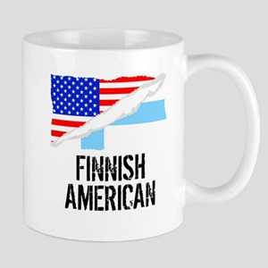 Finnish American Flag Mugs