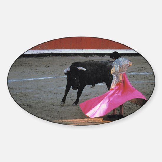 Bull fighter Decal