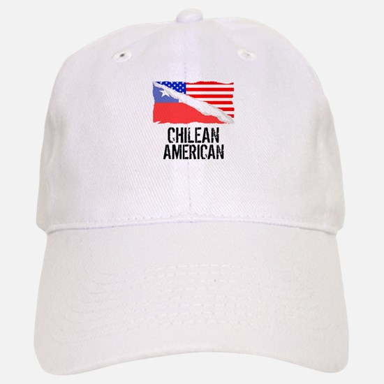 Chilean American Flag Baseball Baseball Baseball Cap