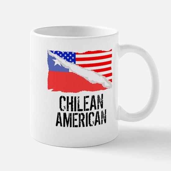 Chilean American Flag Mugs