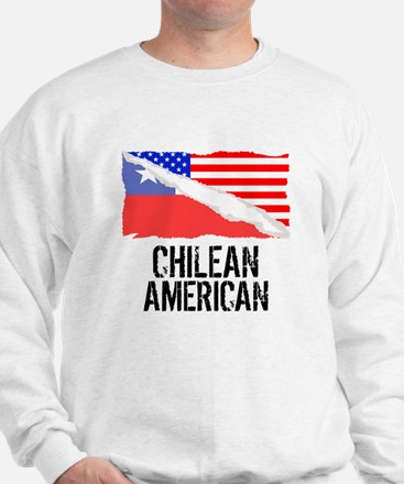 Chilean American Flag Sweater