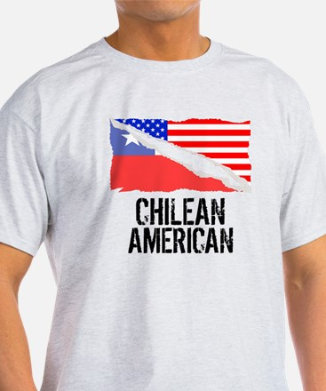 Chilean American Flag T-Shirt