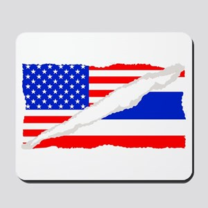 Thai American Flag Mousepad