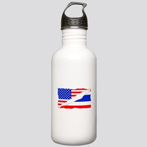 Thai American Flag Water Bottle