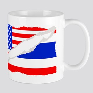 Thai American Flag Mugs