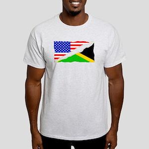 Jamaican American Flag T-Shirt