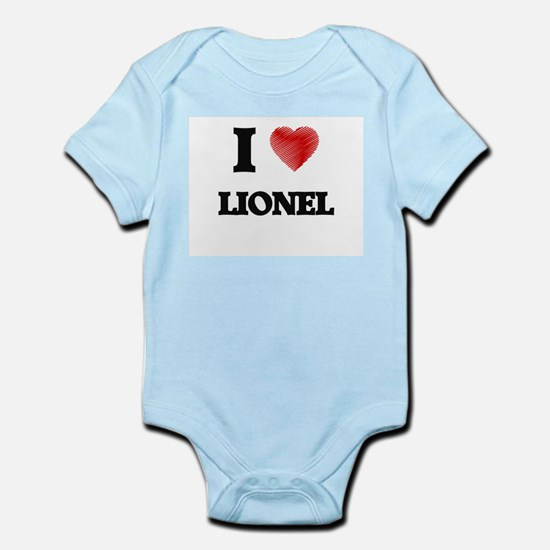 I love Lionel Body Suit