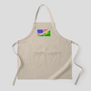 Brazilian American Flag Apron