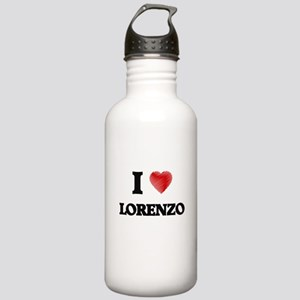 I love Lorenzo Stainless Water Bottle 1.0L