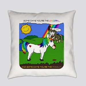 Some Days You're The Unicorn Everyday Pillow