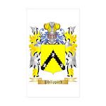 Philippard Sticker (Rectangle 50 pk)
