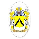Philippard Sticker (Oval 50 pk)
