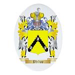 Philipp Oval Ornament