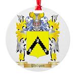 Philipon Round Ornament