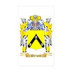 Philipon Sticker (Rectangle 50 pk)