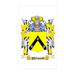 Philipault Sticker (Rectangle 50 pk)