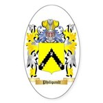 Philipault Sticker (Oval 50 pk)