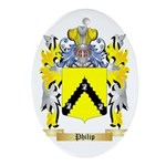 Philip Oval Ornament
