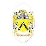 Philcott Oval Car Magnet