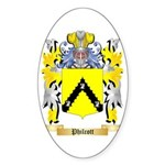 Philcott Sticker (Oval 50 pk)