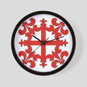 Sinclair Cross Wall Clock