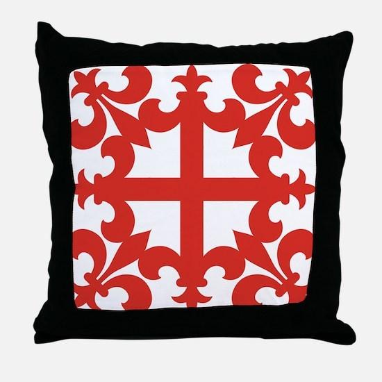 Sinclair Cross Throw Pillow