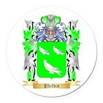 Philbin Round Car Magnet