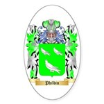 Philbin Sticker (Oval 50 pk)