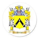 Phelips Round Car Magnet