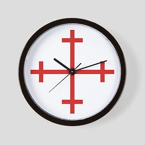 Rosy Cross Wall Clock