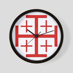 Order of Jerusalem Wall Clock
