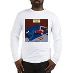 Football Season Ends Long Sleeve T-Shirt