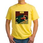 Football Season Ends Yellow T-Shirt