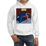 Football Season Ends Hooded Sweatshirt