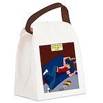 Football Season Ends Canvas Lunch Bag