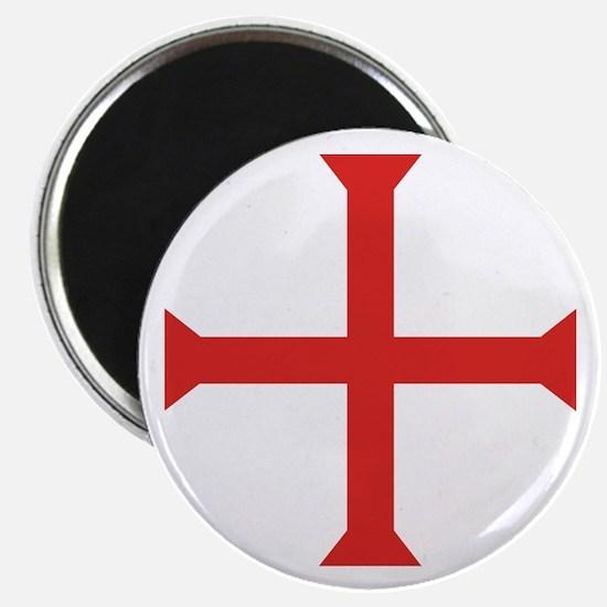 Templar Cross Magnet