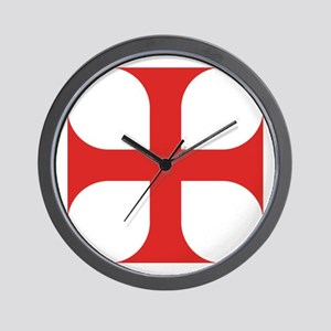 Maltese Order Wall Clock