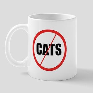 No Cats Mug