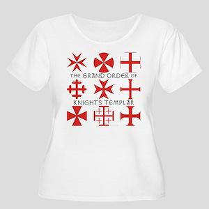 Grand Order Women's Plus Size Scoop Neck T-Shirt