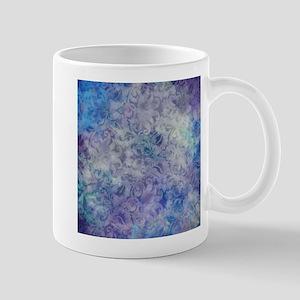 Blue Lavender Floral Mug