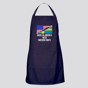 Made In America With Swedish Parts Apron (dark)