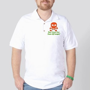 Halloween Pickup Line Golf Shirt