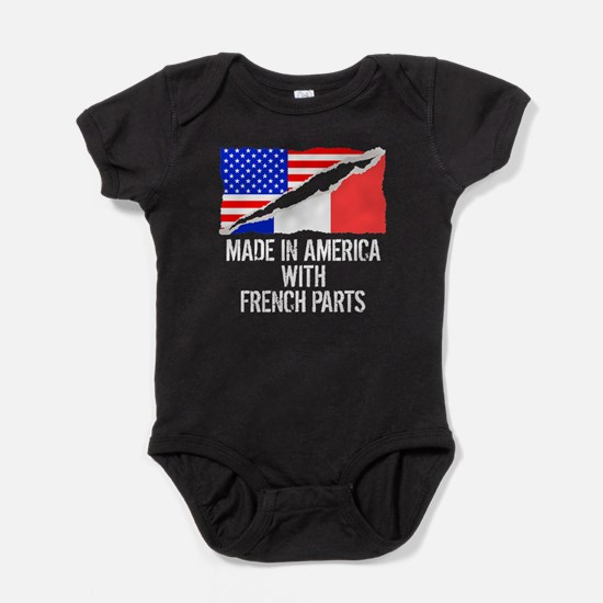 Made In America With French Parts Baby Bodysuit