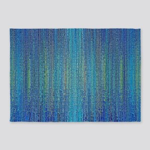 Sea Blue 5'x7'Area Rug