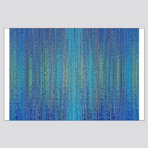 Sea Blue Large Poster