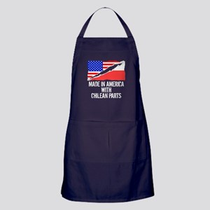 Made In America With Chilean Parts Apron (dark)