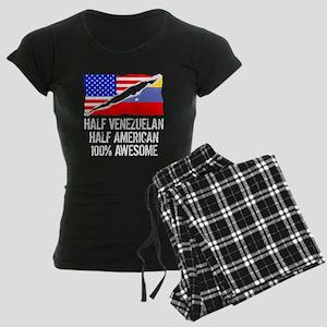 Half Venezuelan Half American Awesome Pajamas