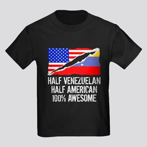 Half Venezuelan Half American Awesome T-Shirt