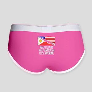 Half Filipino Half American Awesome Women's Boy Br
